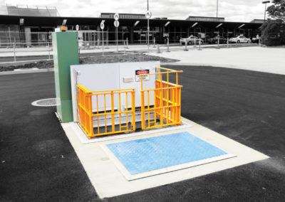 Aluminium Safety Access Cover - Hobart Airport